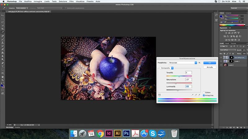 16 cambiare colore photoshop