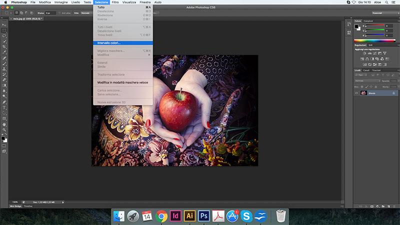 Come cambiare il colore in Photoshop 04f6c6548253
