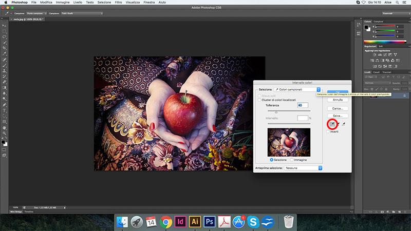 5 cambiare colore photoshop