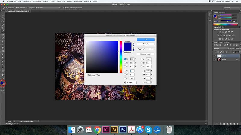 8 cambiare colore photoshop