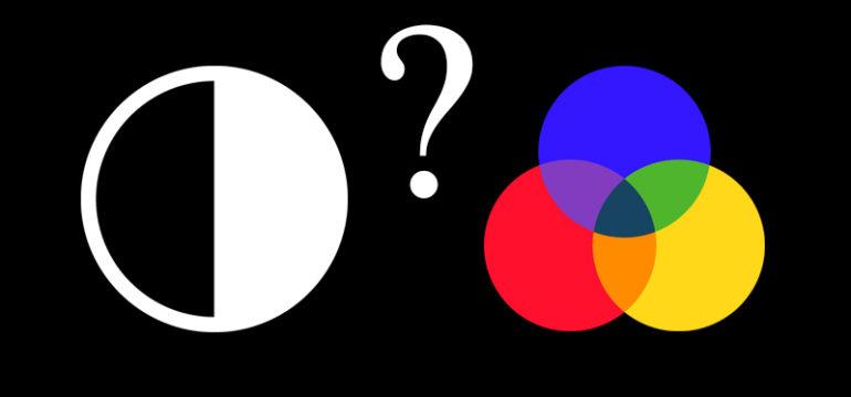 perché fare logo bianco nero o colorato