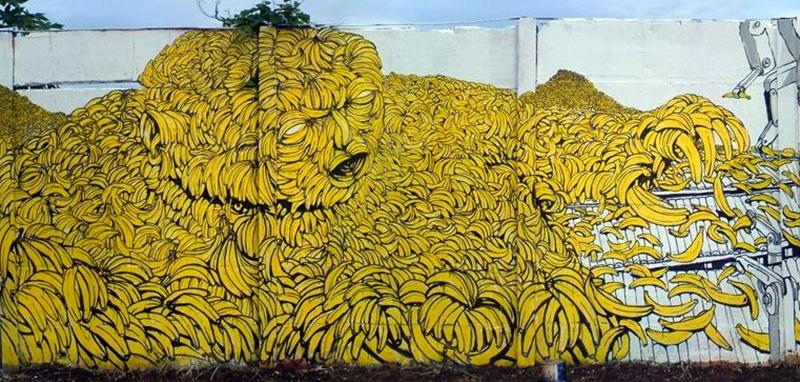 Blu, Hombre Banano