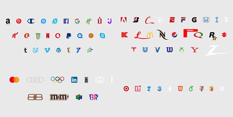 alfabeto brand new roman