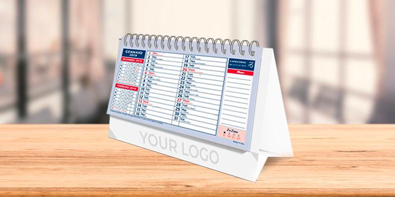 Calendari da tavolo per il 2019 ecco come realizzarli - Calendari da tavolo 2018 ...
