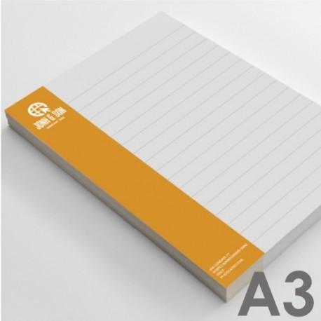 Block notes A3