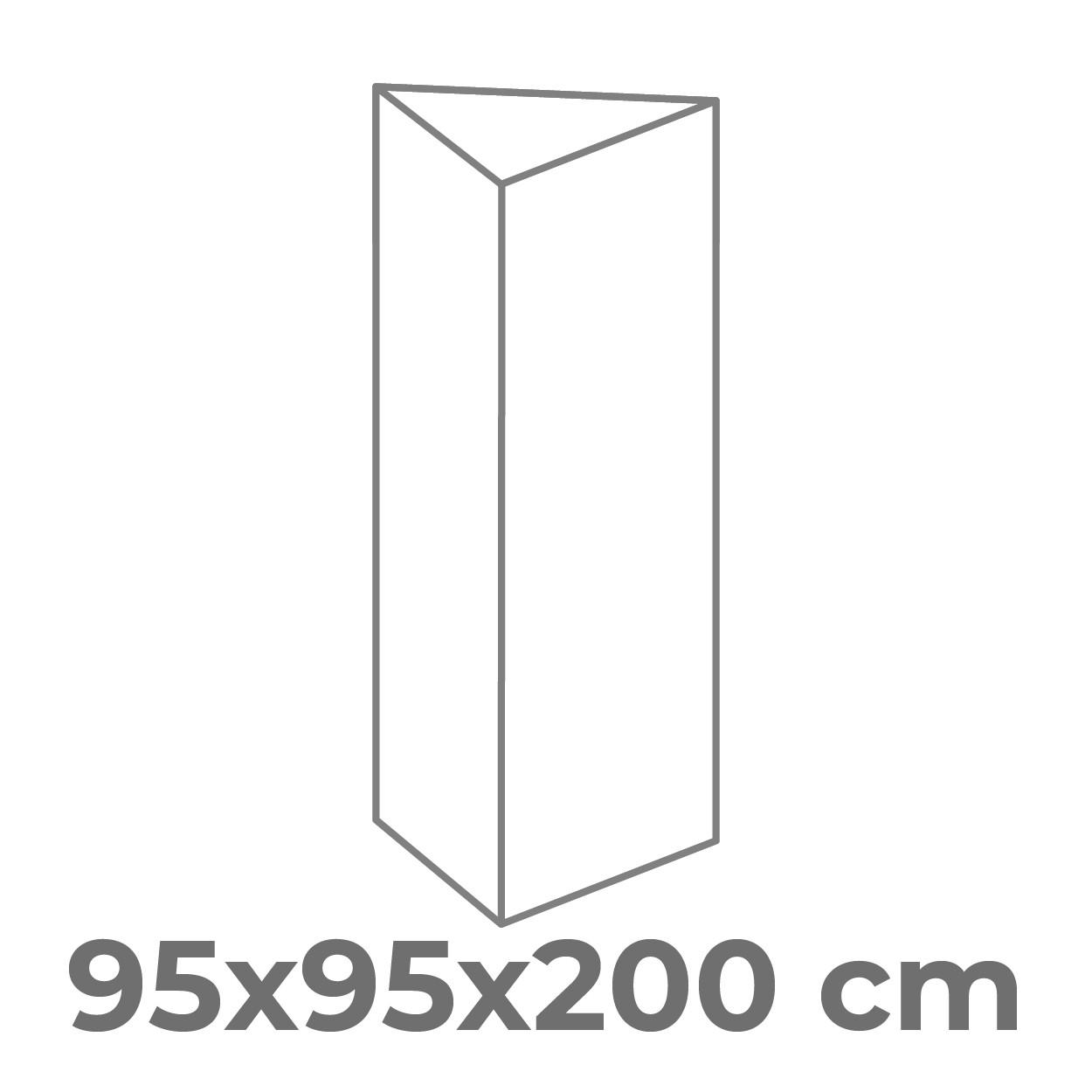95x200 cm