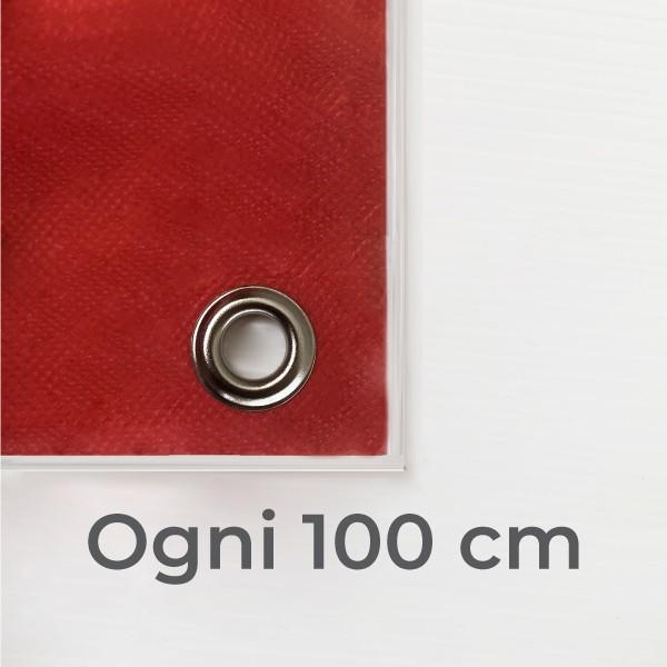 Occhielli ogni 100 cm