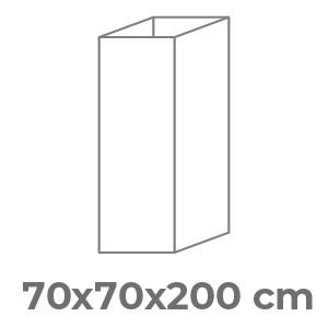70x70x200 cm