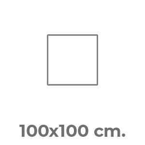 100x100 cm.