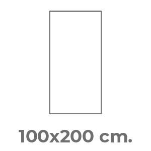 100x200 cm.