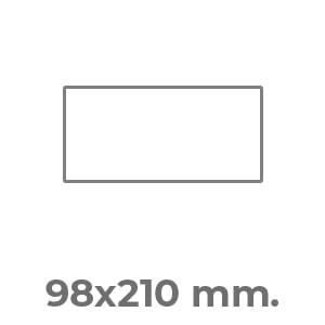 98x210 orizzontale