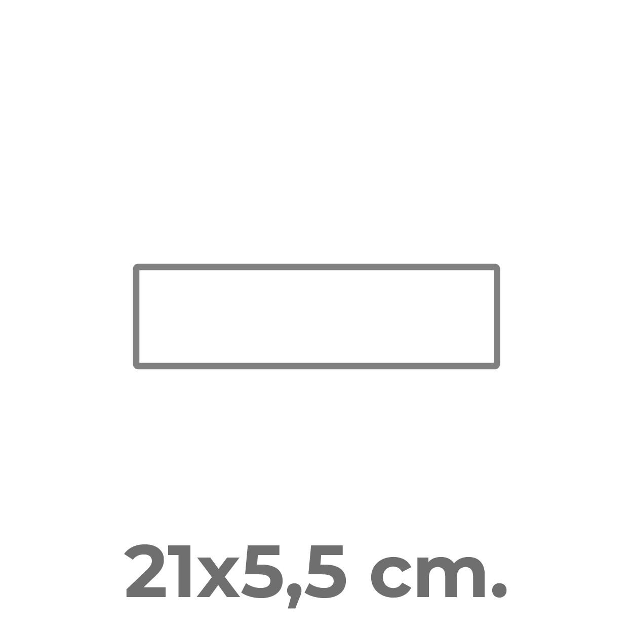 21x5,5 cm