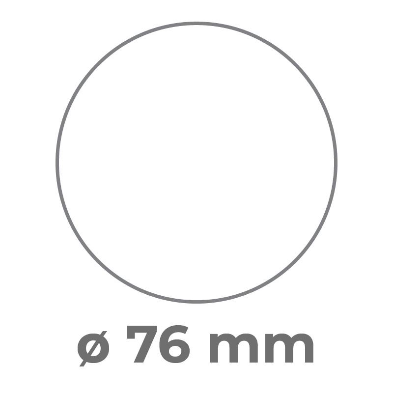 ø 76mm.