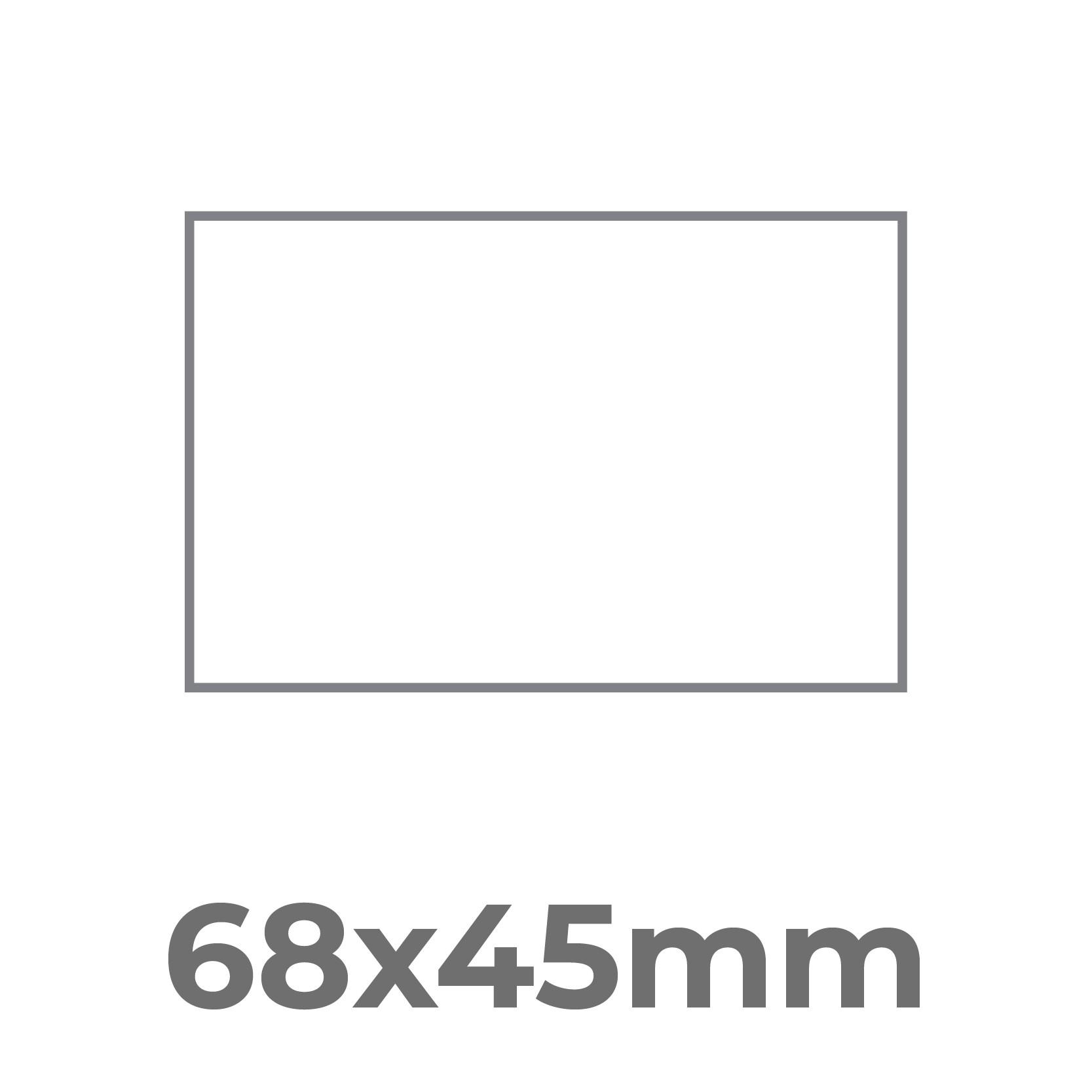 68x45 mm.