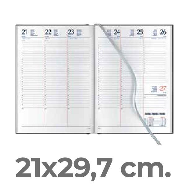 Settimanale 21x29,7 cm.