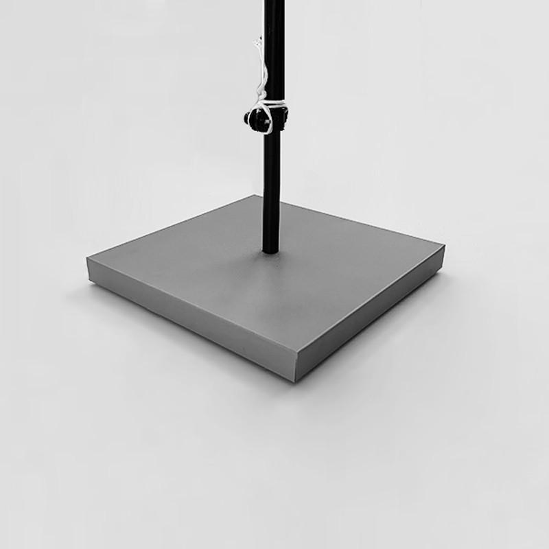 Accessori - Base per esterni acciaio + calcestruzzo 25 kg Singoli