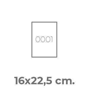 pettorine Pettorale Mini 16 x 22,5