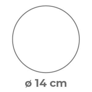 Fustella ø 14 cm Patinata 4/4 colori 300