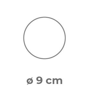Fustella ø 9 cm Patinata stampa fronte e retro a colori 300