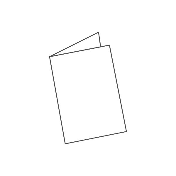 pieghevole 2 ante - 4 facciate A4 420x297 mm semplice