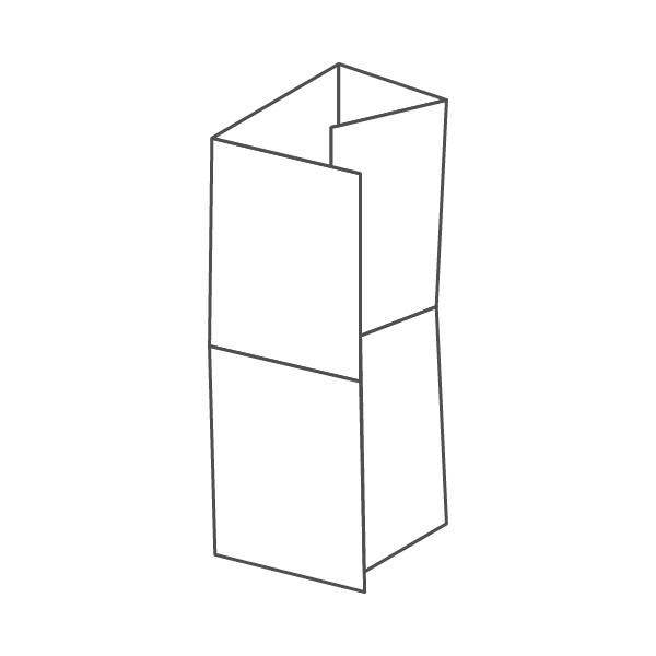 pieghevole 8 ante - 16 facciate A5 592x420 mm portafoglio+croce