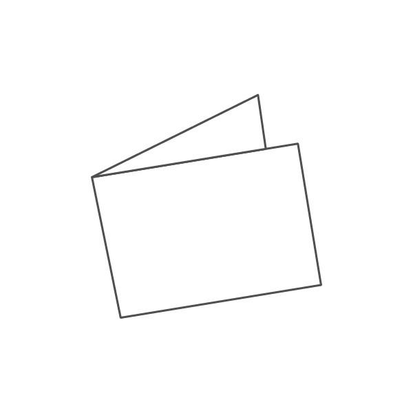 pieghevole 2 ante - 4 facciate A7 orizzontale 210x74 mm semplice