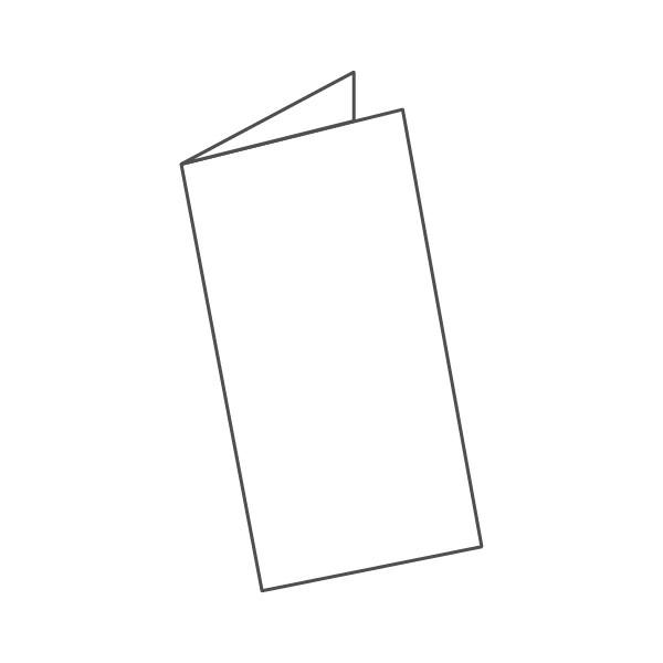 pieghevole 2 ante - 4 facciate A5L 297x210 mm semplice