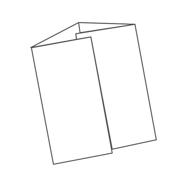 pieghevole 4 ante - 8 facciate A5L 420x297 mm portafoglio