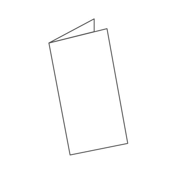 pieghevole 2 ante - 4 facciate 98x210 196x210 mm semplice