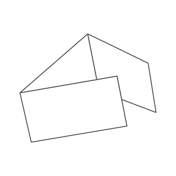 pieghevole 3 ante - 6 facciate 98x210 orizzontale 630x98 mm portafoglio