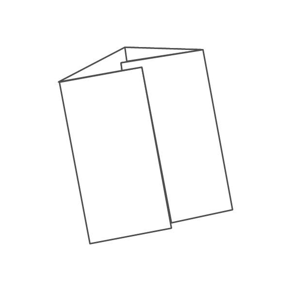 pieghevole 4 ante - 8 facciate 98x210 392x210 mm portafoglio
