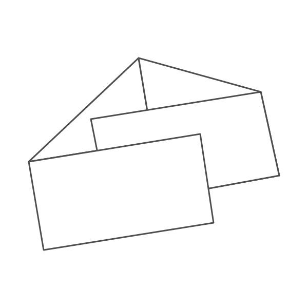 pieghevole 4 ante - 8 facciate 98x210 orizzontale 834x98 mm portafoglio