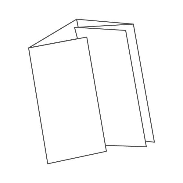 pieghevole 5 ante - 10 facciate 98x210 489x210 mm portafoglio
