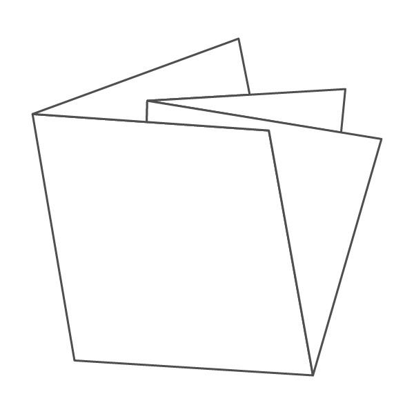 pieghevole 4 ante - 8 facciate 98x98 196x196 mm croce