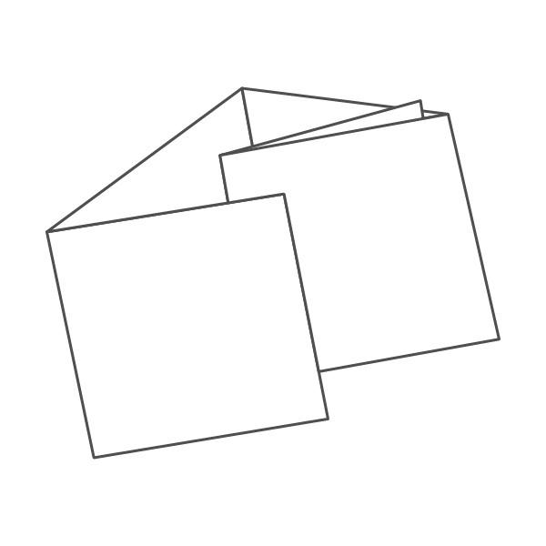 pieghevole 5 ante - 10 facciate 98x98 484x98 mm portafoglio