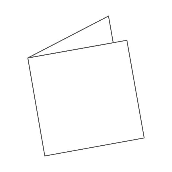 pieghevole 2 ante - 4 facciate 210x210 420x210 mm semplice