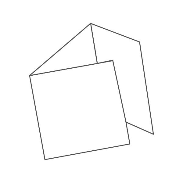 pieghevole 3 ante - 6 facciate 210x210 630x210 mm portafoglio