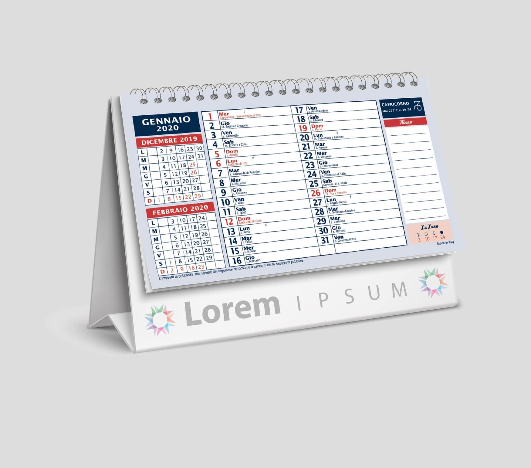 Calendario Olandese Da Stampare.Stampa Calendari Olandesi