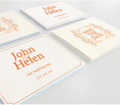 Inviti e cartoline deluxe