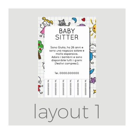 Come Creare Volantini Per Baby Sitter Stampaprint